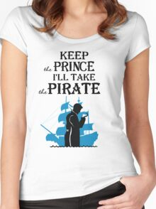 I'll take the Pirate! Women's Fitted Scoop T-Shirt