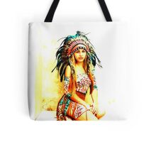Indian warrior 11 Tote Bag