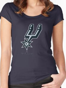 antonio spurs Women's Fitted Scoop T-Shirt