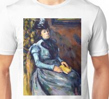1904 - Paul Cezanne - Seated Woman in Blue Unisex T-Shirt