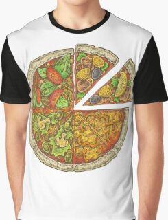 Pizza Graphic T-Shirt