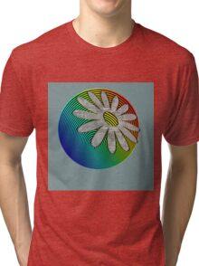 Moon Flower Tri-blend T-Shirt