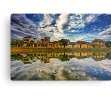 Hoi An river side Metal Print