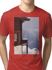 View from Riederalp Tri-blend T-Shirt