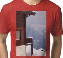 View from Riederalp Tri-blend T-Shirt