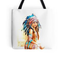 Indian warrior 8 Tote Bag