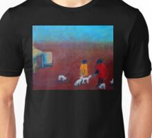 """Feeding the Lambs"" outback Australia Unisex T-Shirt"