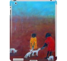 """Feeding the Lambs"" outback Australia iPad Case/Skin"