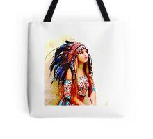 Indian warrior 6 Tote Bag