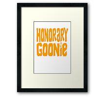 Honory Goonie Framed Print