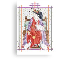 The Tarot Empress Metal Print