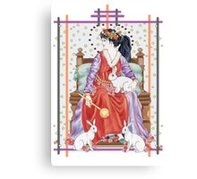 The Tarot Empress Canvas Print
