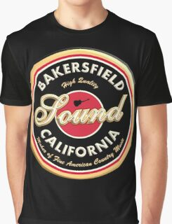Bakersfield  California Country  Vintage Graphic T-Shirt