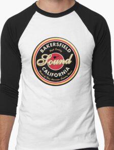 Bakersfield  California Country  Vintage Men's Baseball ¾ T-Shirt