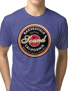 Bakersfield  California Country  Vintage Tri-blend T-Shirt