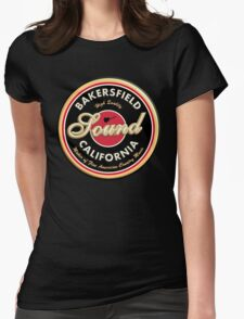Bakersfield  California Country  Vintage Womens Fitted T-Shirt