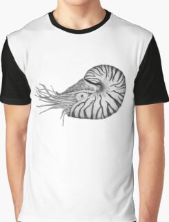 Nautilus black/ white Graphic T-Shirt