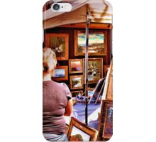 """""""The Artist and His Craft""""... prints and products iPhone Case/Skin"""