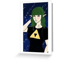 Elven Nerd Greeting Card