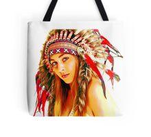 Indian warrior 4 Tote Bag