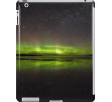 Shawbost shore aurora reflections.  iPad Case/Skin