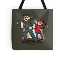 Post-Apocalyptic Dynamic Duo! Tote Bag