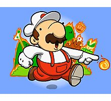 Fire plumber! Photographic Print