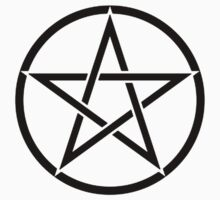 Pentacle, Witch, Wizard, WICCA, Modern, Pagan, Witchcraft, Religion, Cult One Piece - Short Sleeve