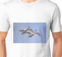 Swans in Flight Unisex T-Shirt