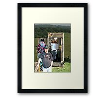 """A Privileged Peek into Bubba's Stress Management; An Interview""... prints and products Framed Print"