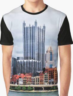 Pittsburgh PA Skyline Graphic T-Shirt