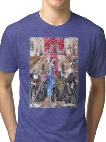 OBSESSED BY THE EVIL - Ars Tenebrarum Tri-blend T-Shirt