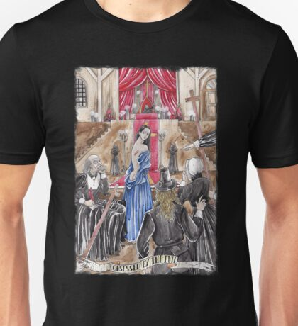 OBSESSED BY THE EVIL - Ars Tenebrarum Unisex T-Shirt