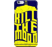 Police Box Kill The Moon iPhone Case/Skin