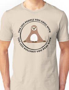 Sloth Yoga Zen Unisex T-Shirt