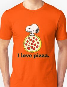 Snoopy I Love Pizza T-Shirt