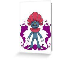 Weavile Greeting Card