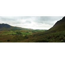 Wasdale Panorama, the Lake District, UK Photographic Print
