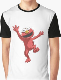 elmo Graphic T-Shirt