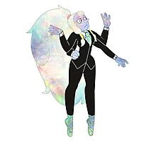 Formal Opal Photographic Print