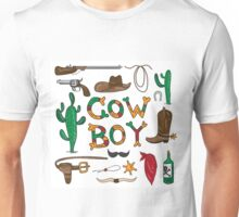 Real cowboy Unisex T-Shirt