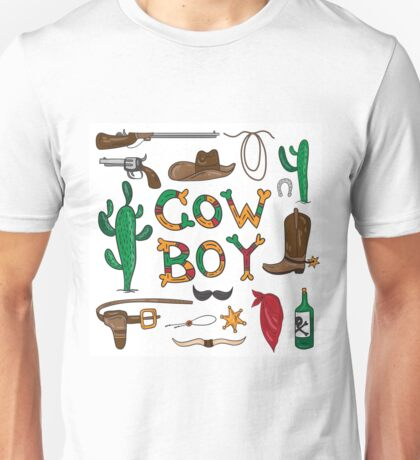 Real cowboy Unisex T-Shirt