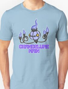 Chandelure Pixel Art Design Unisex T-Shirt