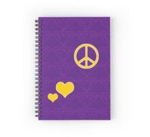 Golden Heart Part 1 Spiral Notebook