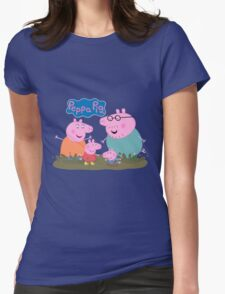 Peppa Pig Womens Fitted T-Shirt