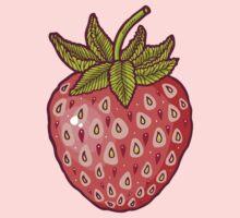 strawberry fields One Piece - Short Sleeve