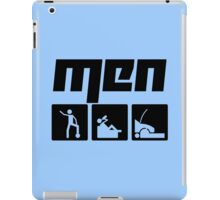 Men 3 iPad Case/Skin