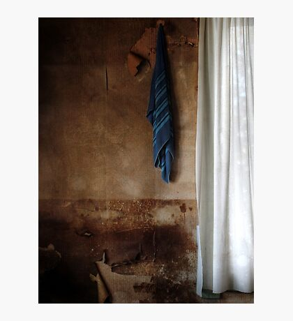 22.3.2016: Towel and Curtains Photographic Print