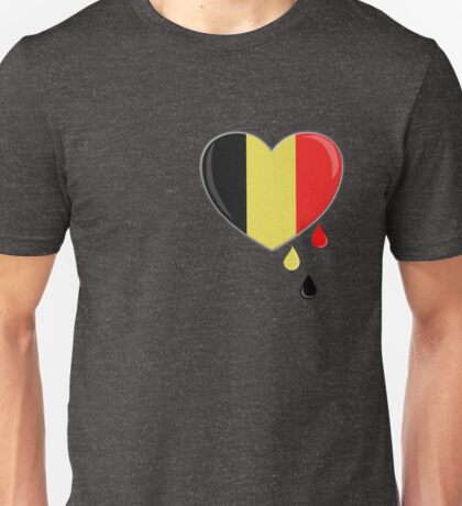 Crying for Belgium Brussels Unisex T-Shirt