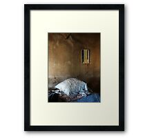 22.3.2016: Pillow and Mirror Framed Print